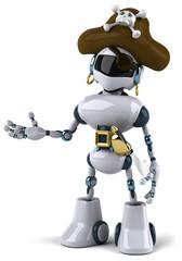 Robot pirate