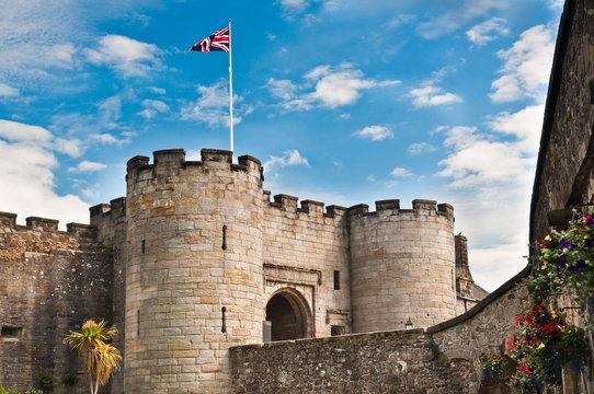 Main entrance, Stirling Castle, Scotland
