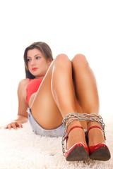 woman slave - concept