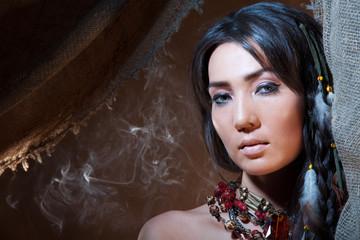 American Indian fortune teller