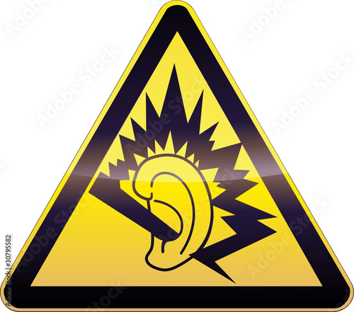 panneau de danger jaune oreille endommag e d tour fichier vectoriel libre de droits sur la. Black Bedroom Furniture Sets. Home Design Ideas