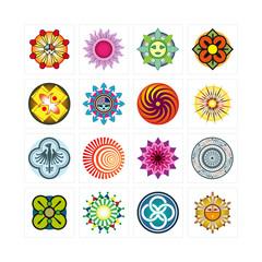 picto logo motif design graphique icône vecteur rond internet