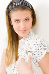 Fashion model - woman wear summer designer clothes