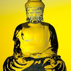 Golden Diamond Buddha