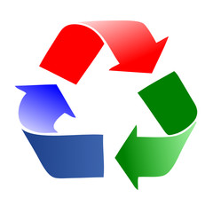 recycle - Three arrows follow eachother