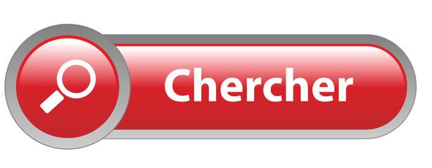 """Bouton Web """"CHERCHER"""" (loupe moteur rechercher en ligne trouver)"""