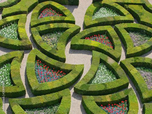 Jardin la fran aise photo libre de droits sur la for Jardin 0 la francaise