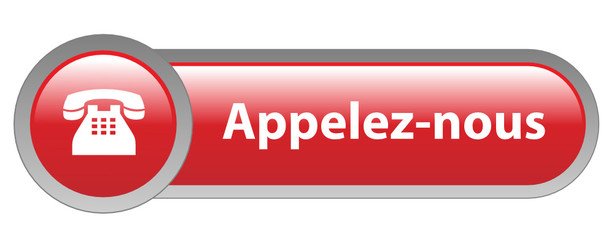 Bouton Web APPELEZ-NOUS (service clients contact téléphone aide)