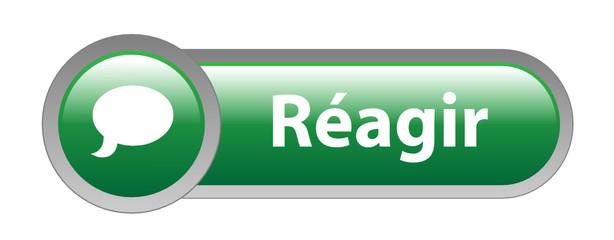 Bouton Web REAGIR (opinions partager commentaire réaction forum)