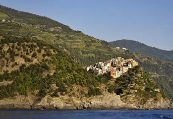 Cinque Terre, Italy. Corniglia village.