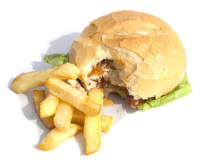 frite et burger