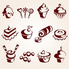 Sweet pastry set