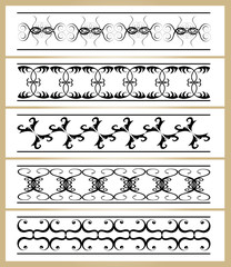 Ornamente Vektorset 6