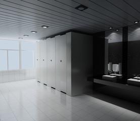 rendering toilet