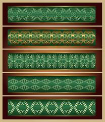 Ornamente Vektorset 13