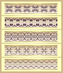 Ornamente Vektorset 19