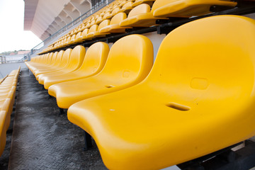 Yellow chair..