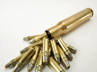 Fifteen cartridges