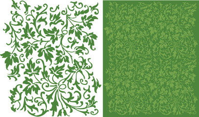Ivy Filigree Pattern