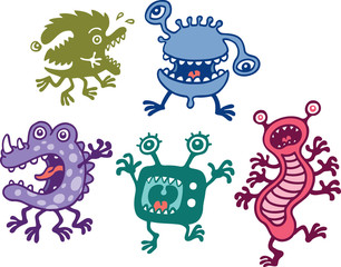 Canvas Prints Creatures Monsters