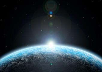 Photo sur Plexiglas Univers 惑星03