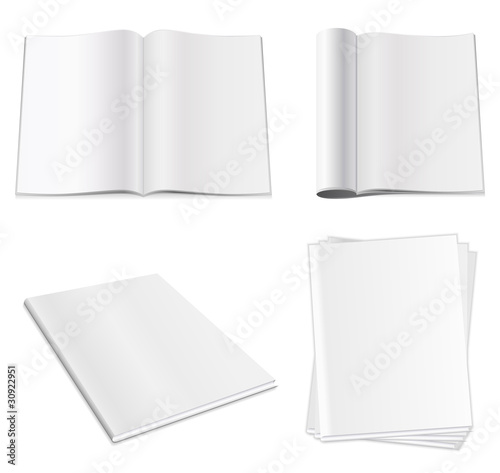 """""""blank magazine"""" stock image and royaltyfree vector files"""
