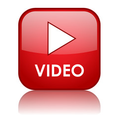 VIDEO Web Button (play watch view media player icon news live)