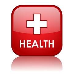 HEALTH Web Button (fitness sport healthy diet pharmacy medical)
