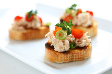 Bruschetta with Tuna