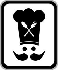 Emblema cocinero