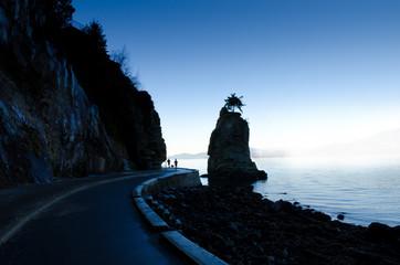 Vancouver Seawall, Siwash Rock