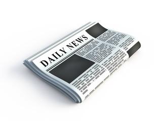 3d newspaper icon