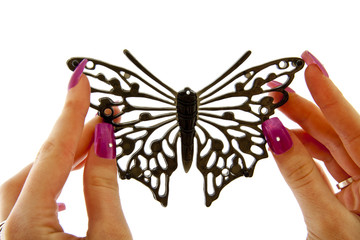 Black fashion  Butterfly