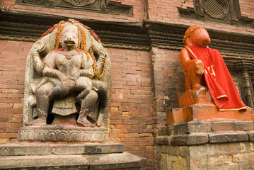 Hindu Deities at  Patan Durbar Square 4.
