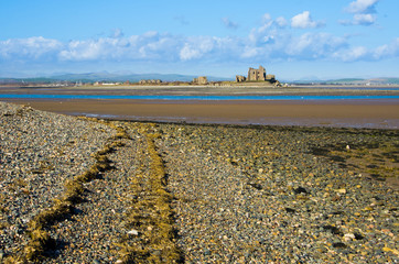 Piel Island from South Walney