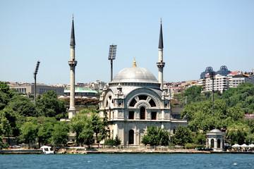 Dolmabahce Camii at Besiktas, Bosporus, Istanbul