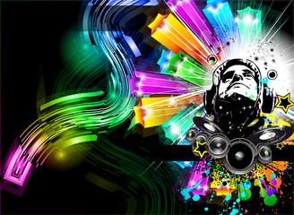 Alternative Discoteque Music Flyer