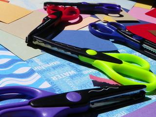 scrapbook scissors