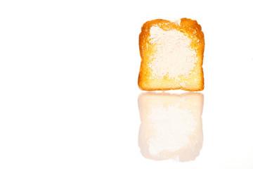 Fresh and crasty toast