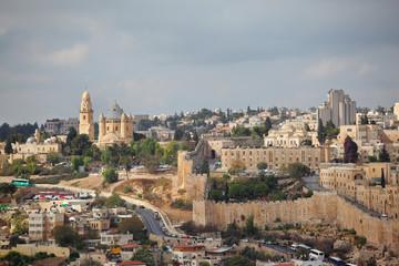The capital of Israel - Jerusalem