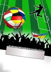 EM 2012 Public Viewing Plakat