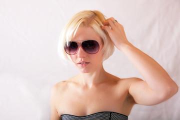 Portrait einer jungen Frau 741