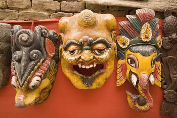 Nepal Masks .