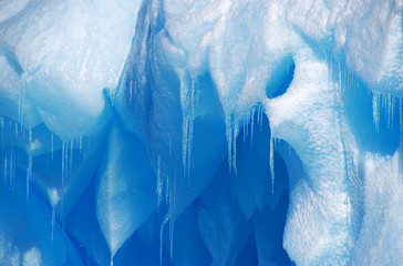 Wall Mural - icicles on an iceberg