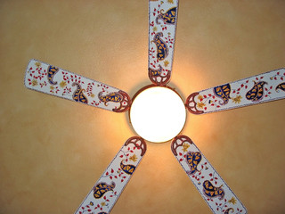 Design of the ceiling fan.