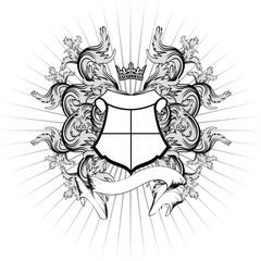 heraldic coat of arms shield