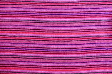 Mexican serape vibrant pink macro fabric texture