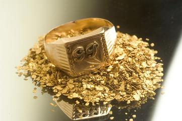 récupération de vieux bijoux