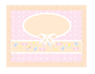 baby background , illustration