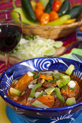 Pozole mexican traditionnal cuisine 6